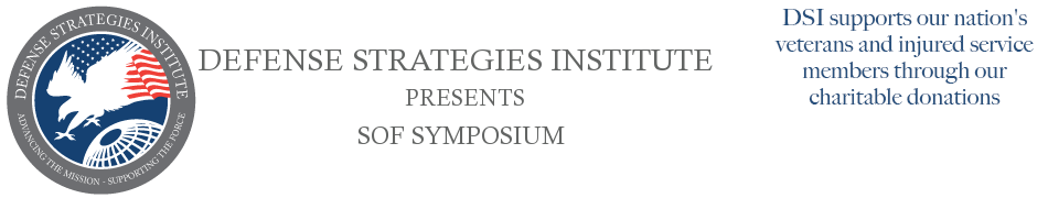 SOF Symposium | DEFENSE STRATEGIES INSTITUTE
